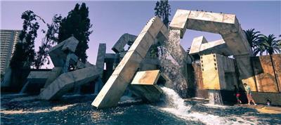 瓦尔兰科特喷泉(Vaillancourt Fountain)
