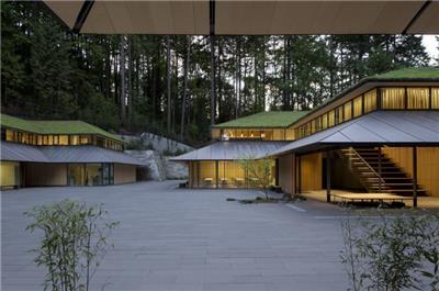 公园设计案例之Portland Japanese Garden Cultural Village