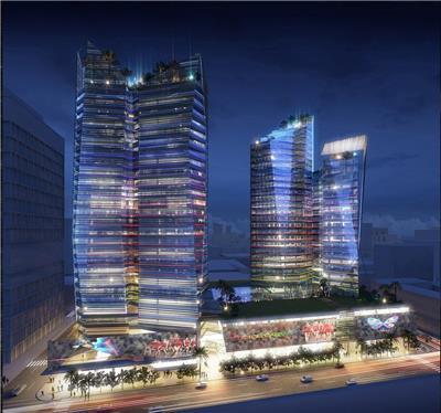 Baku商业办公综合体