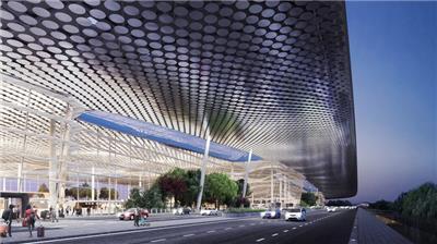 杭州萧山机场4号航站楼建筑