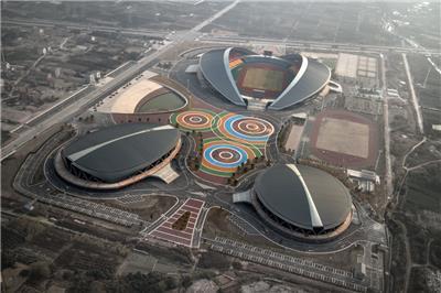 浙江金华市体育中心