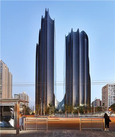 北京朝阳公园广场
