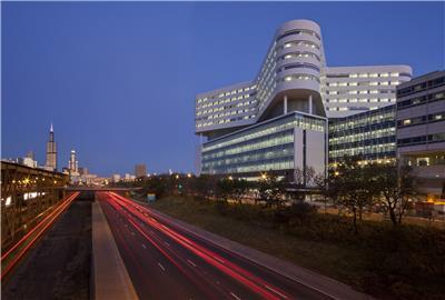 拉什大学医学中心新医院大楼