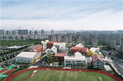 """儿童画笔下的""""童趣""""空间—杭州未来科技城海曙学校"""