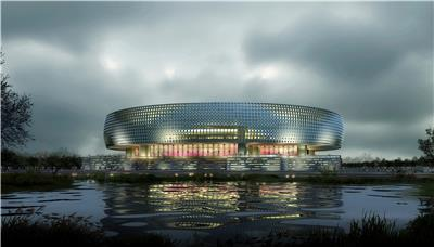 濮阳市新区起步区体育馆