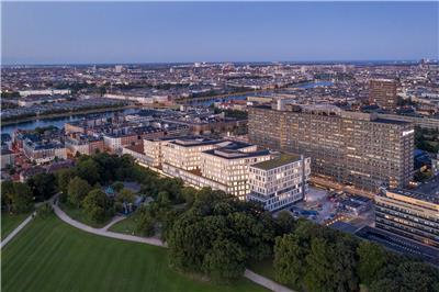 Rigshospitalet医院的新北部大楼