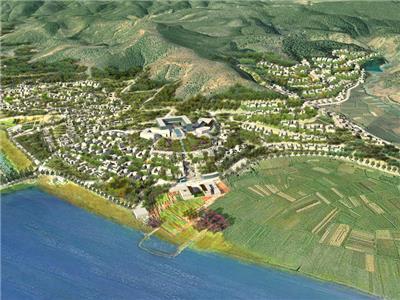 拉市湖度假村总体规划