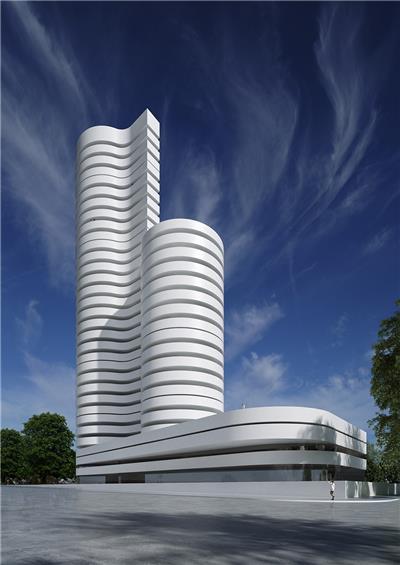 Kouros塔楼,西班牙 / Fran Silvestre Arquitectos