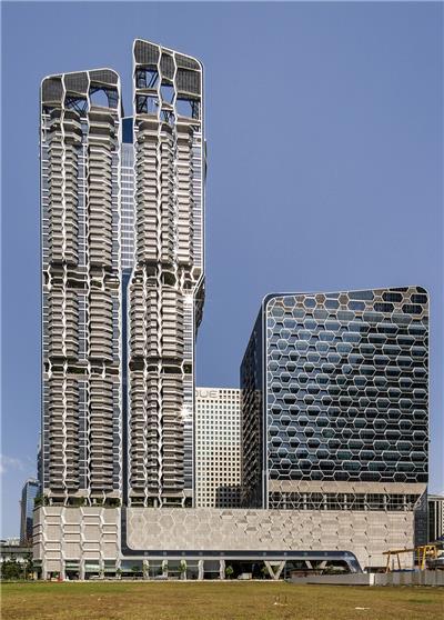 V on Shenton大楼,新加坡 / UNStudio