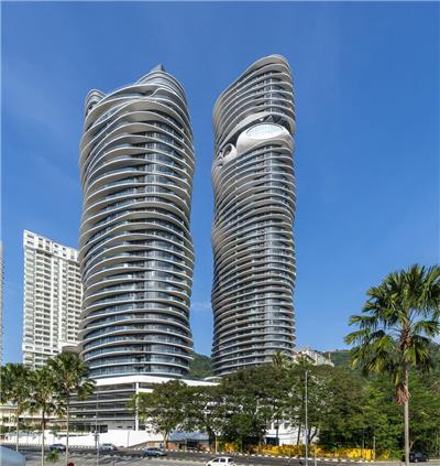 Arte S住宅楼,马来西亚 / SPARK思邦
