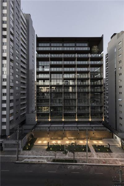 VINT办公与公寓混合功能建筑,巴西 / Hype Studio