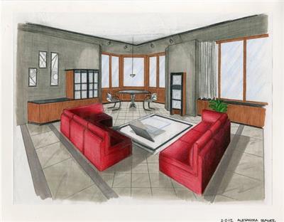 室内设计图欣赏