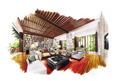 室内设计手绘分享