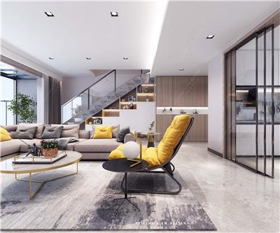 复式现代温馨家居