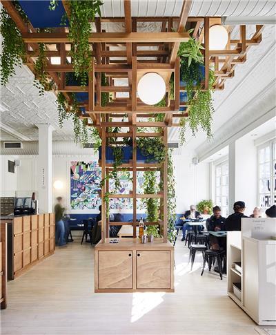 休闲咖啡厅装修效果图小型