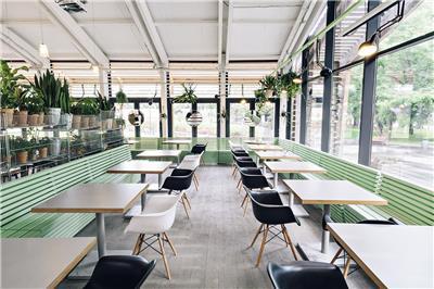 咖啡厅装修效果图现代化