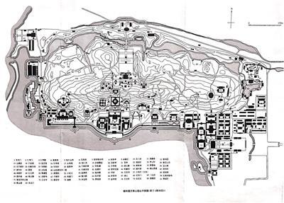 颐和园平面图