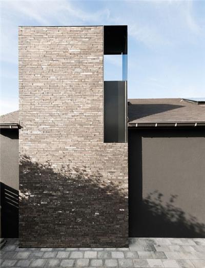 砖砌筑的外立面